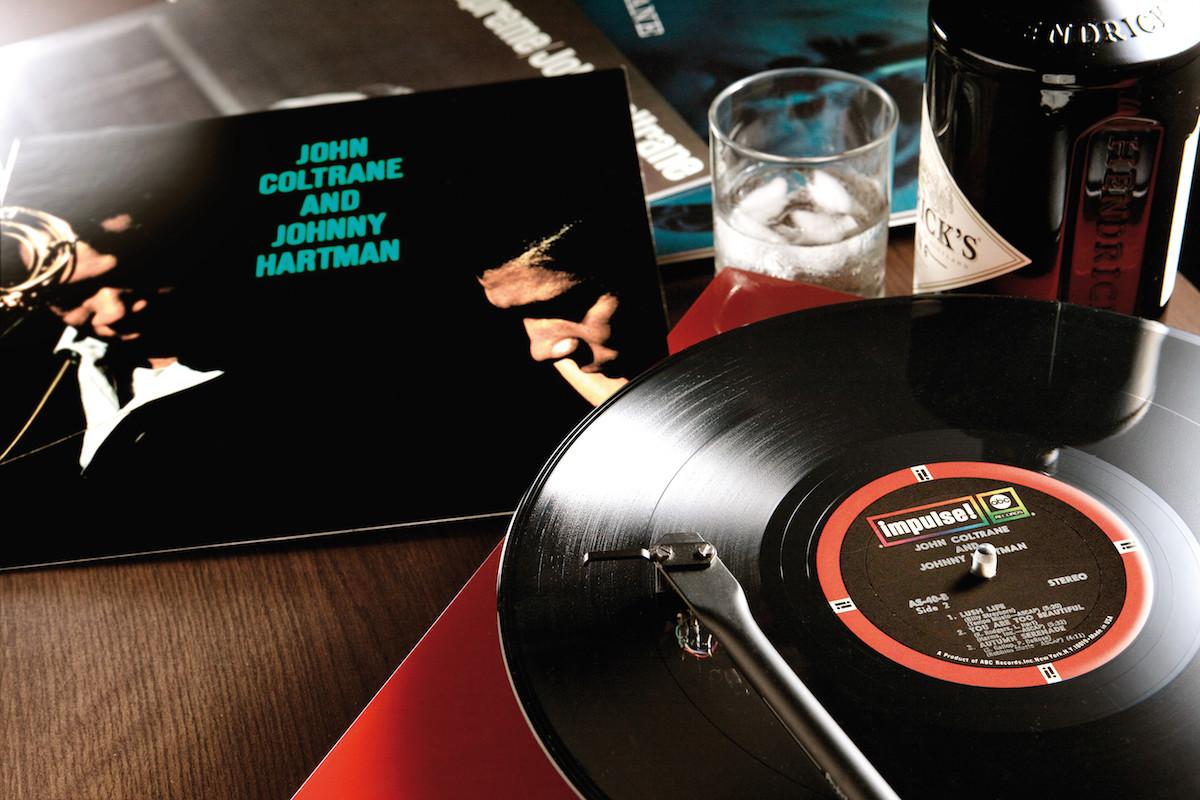 John Coltrane Smoke Break Adult Work Shirt