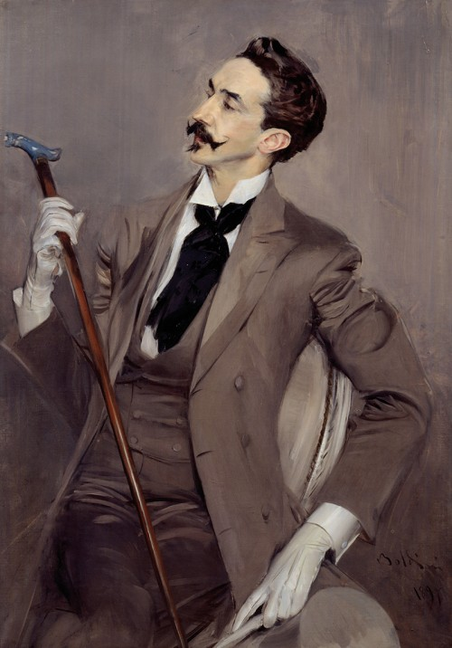 Robert de Montesquiou, Charvet shirt and tie, The Rake