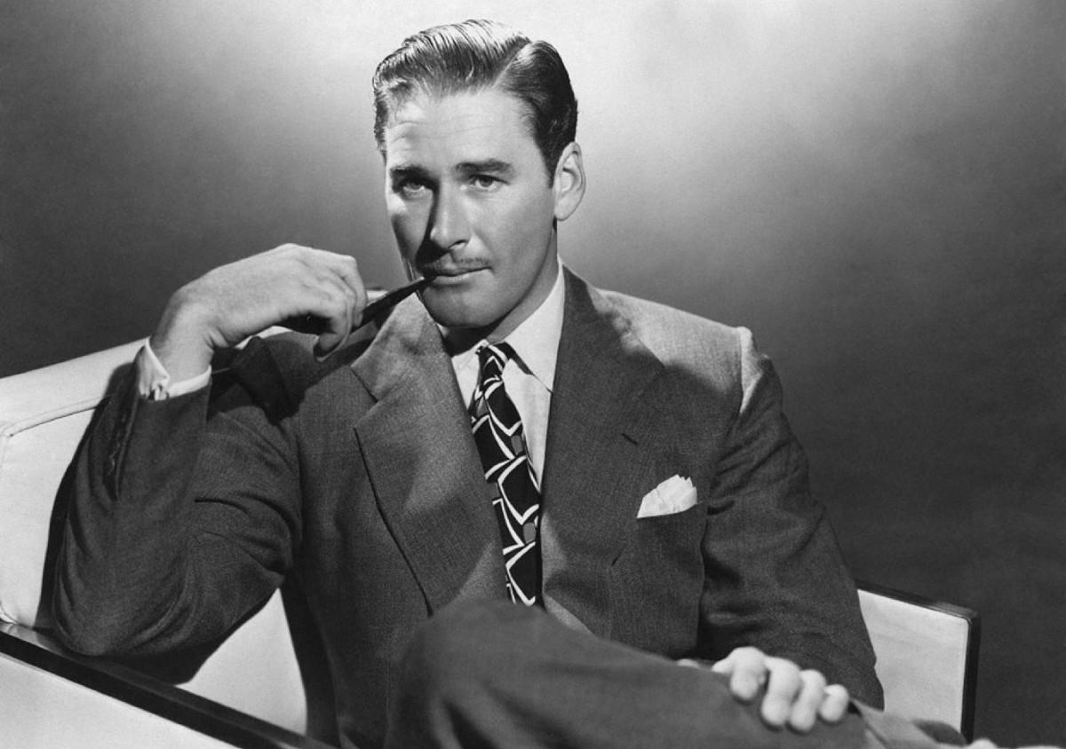Errol Flynn (1909?959 (born in Tasmania and later naturalized American citizen)