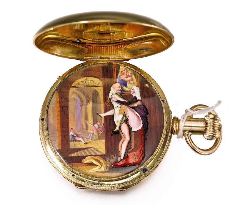 The Rare Gold and Enamel Quarter Repeating Musical Automata Watch, The Art of Sex