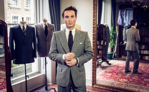 Edward Sexton, Bespoke Tailor, The Rake