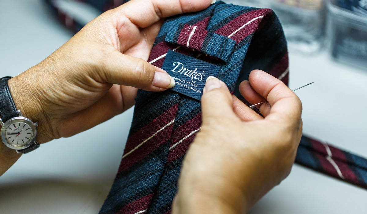 Drake's for The Rake: The Limited Edition Archival Necktie