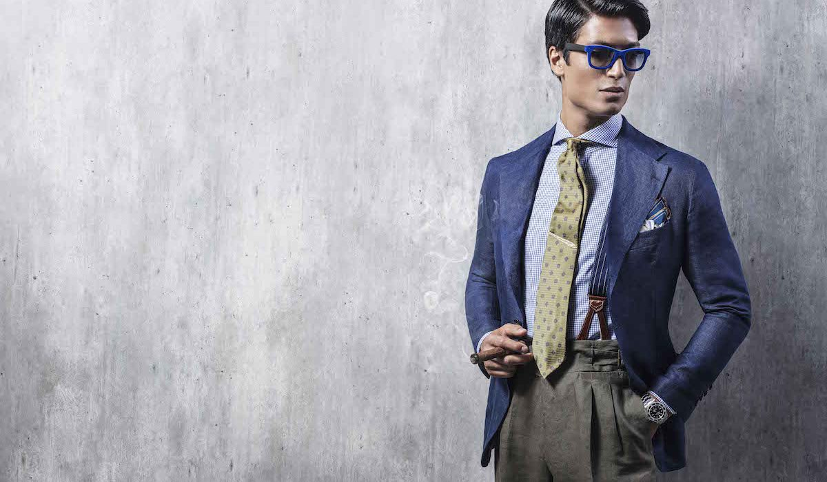 Rubinacci for The Rake: The Unstructured Summer Linen Blazer