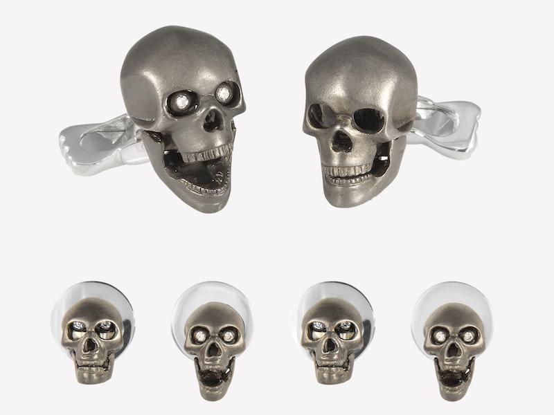 The Rake, Skull & Crossbones, deakin & francis, cufflinks