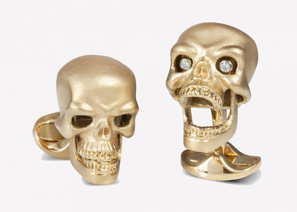 The Rake, Deakin & Francis, Cufflinks, Jewellers, Skulls, Craft