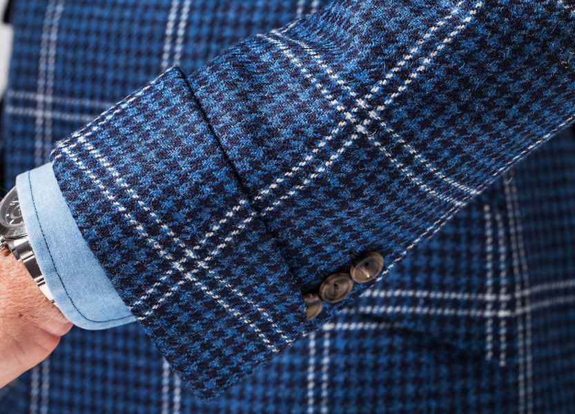 Huntsman for The Rake, Tweed Jacket