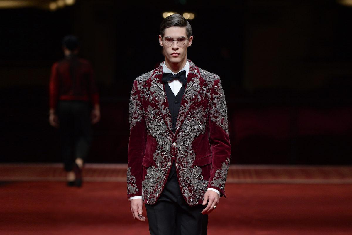 Dress Coda Dolce Gabbana Alta Sartoria 2017 Therake
