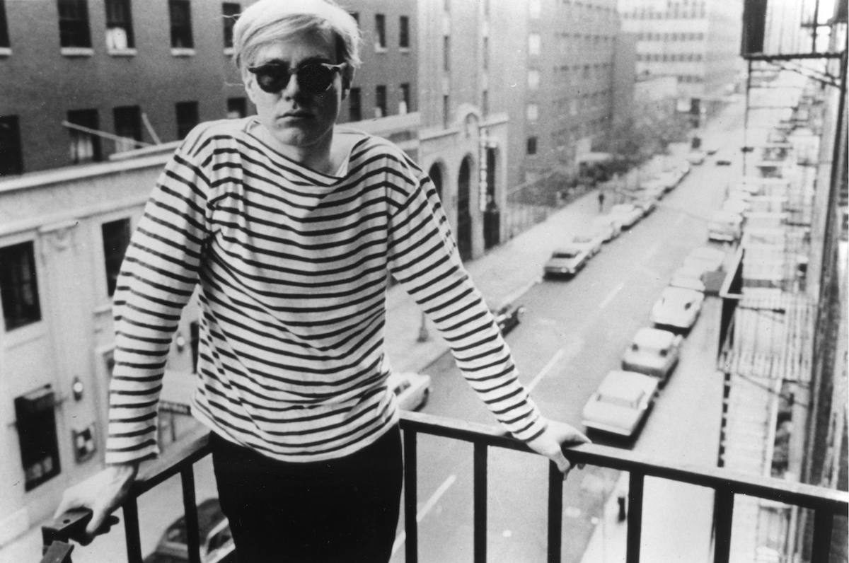 Image result for warhol striped shirt