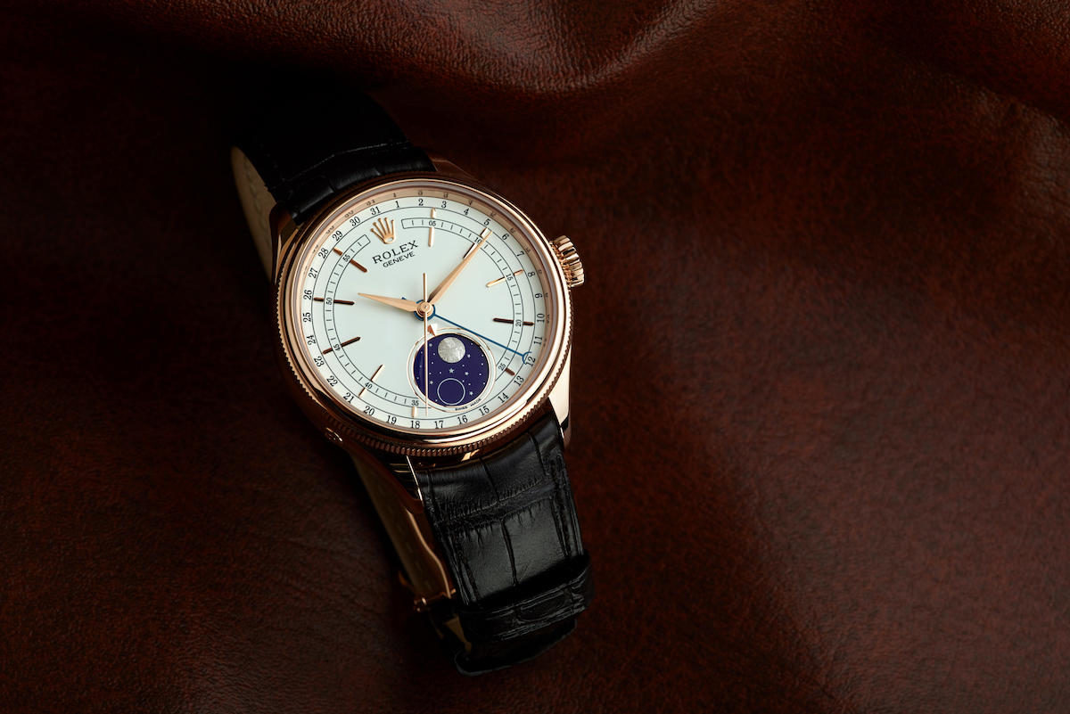 Invest The New Rolex Cellini Moonphase