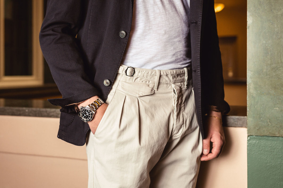 the rake, gurkha trousers