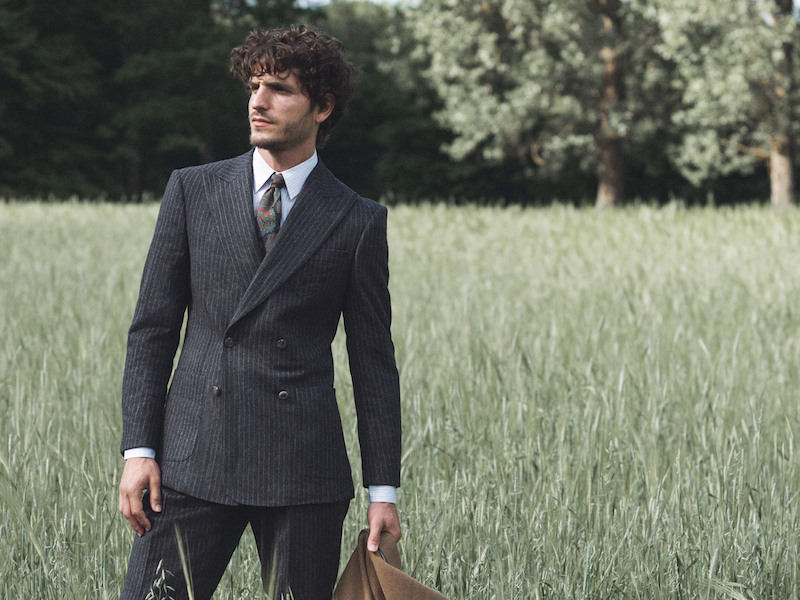 The Rake, Double-Breasted Suit