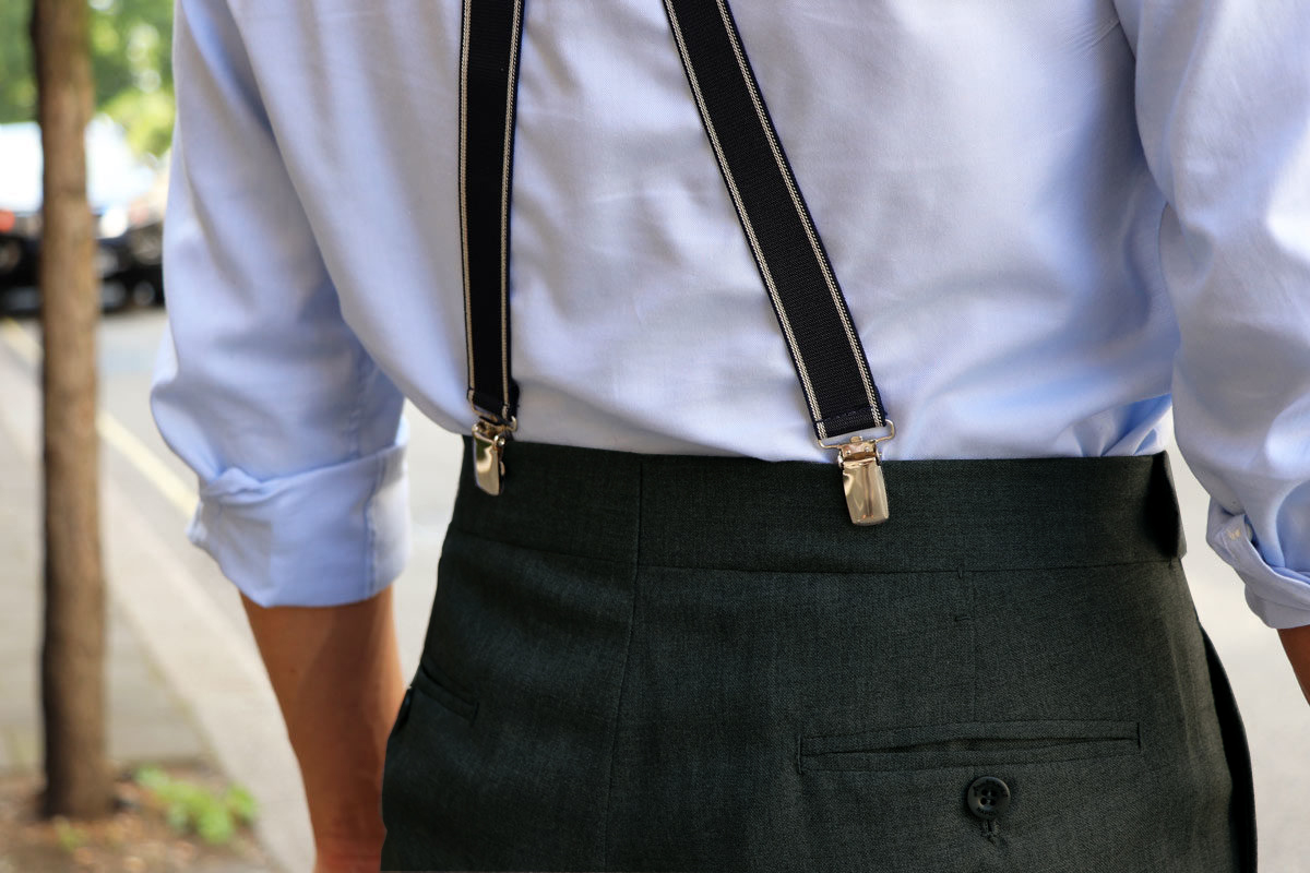 Ambrosi trousers for The Rake