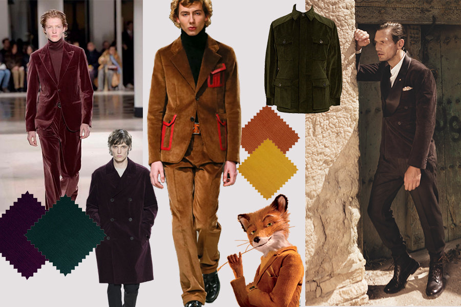 The Rake, Corduroy Moodboard Hermes, Prada, Mr Fox, Fashion, A&S