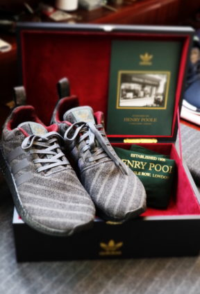the best attitude 71dab a6348 Henry Poole x Adidas: Merging Streetwear with Tailoring ...