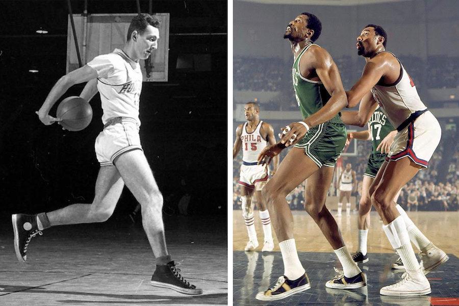 The Rake, Trainers, basketball