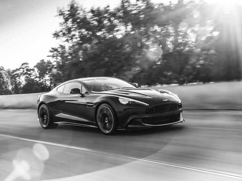 The Rake, Aston Martin Vanquish S