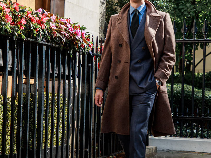 The Rake, Double-Breasted Overcoat