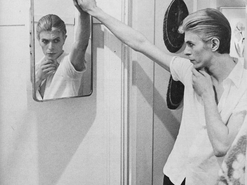 The Rake, Grooming, David Bowie