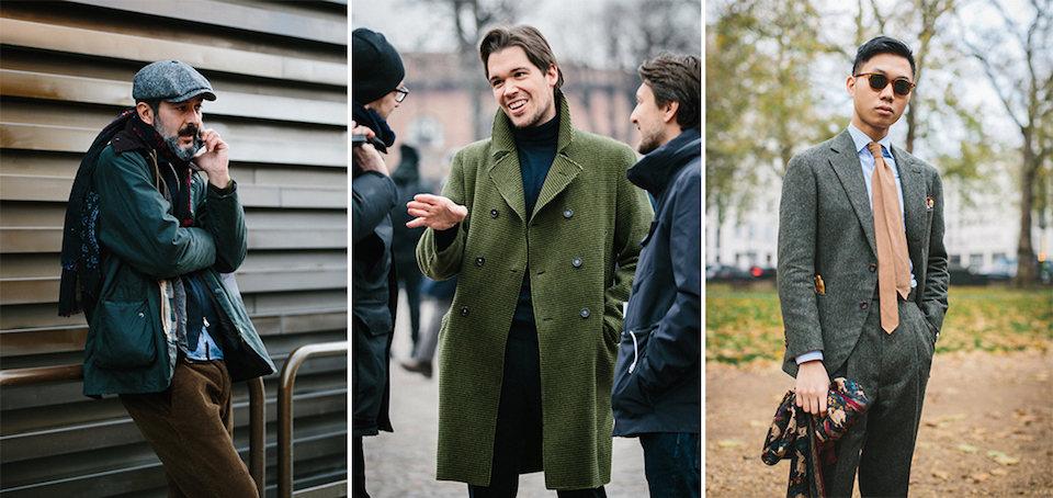 The Rake, How To Wear Green, Street Style, Jamie Ferguson