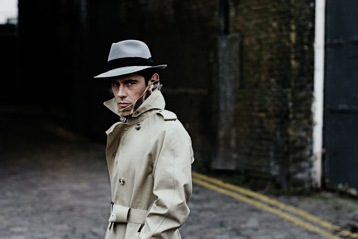 Lock   Co. s grey felt and fur fedora in issue 38 of The Rake. Photograph  by Thomas Lavelle. 1e1245af4e8