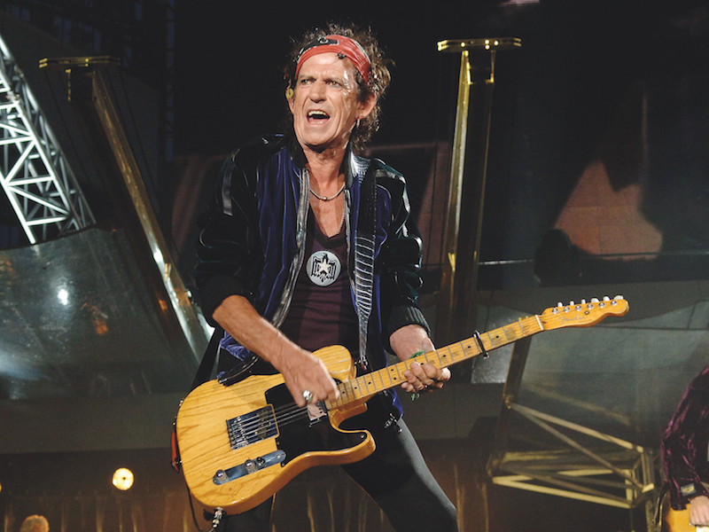 The Rake, Keith Richards