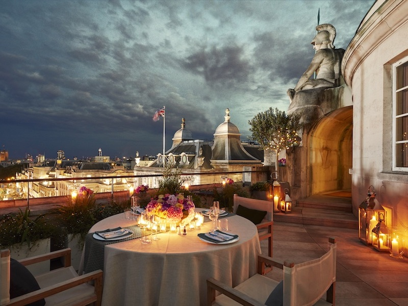 The Rake Hotel Cafe Royal - Dome Penthouse - Summer Terrace